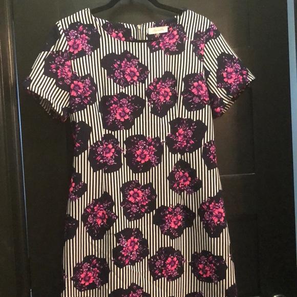 Sugarlips Dresses & Skirts - Floral & striped shift dress